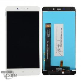 LCD + vitre tactile blanche Xiaomi Redmi Note 4
