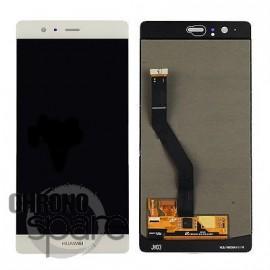 Ecran LCD + Vitre tactile noire Huawei P9 PLus