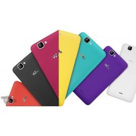 Cache batterie Wiko Rainbow 4G violet