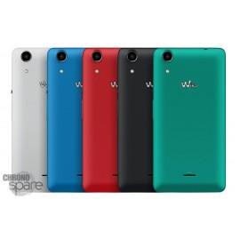 Cache batterie Wiko Rainbow Lite 4G blanc