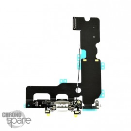 Nappe connecteur de charge lightning iPhone 7 Plus Blanc