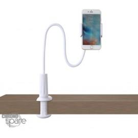 Support flexible Awei X3 Blanc