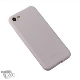 Coque souple Soft touch - Iphone 5/5S/SE - Gris clair