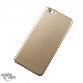 Coque souple Jelly - Samsung S6 - Or
