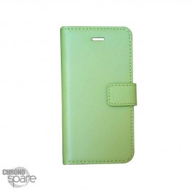 Etui simili-cuir Vert PU à rabat latéral Sony Xperia Z5 Compact