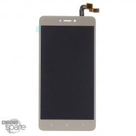 Ecran LCD + vitre tactile Xiaomi Redmi Note 4X Or