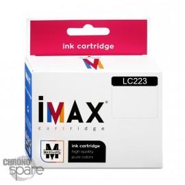 Cartouche compatible Premium IMAX Brother LC223 Noire