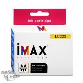 Cartouche compatible Premium IMAX Brother LC223 Jaune