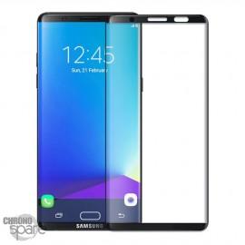 Film de protection incurvé 3D en verre trempé Noir Samsung Galaxy Note 8 avec boîte (PREMIUM)
