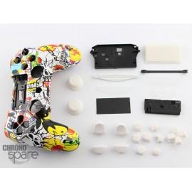 Coque complète avec boutons manette PS4 - Racing
