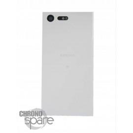 Vitre arrière Sony Xperia X Compact - Blanc