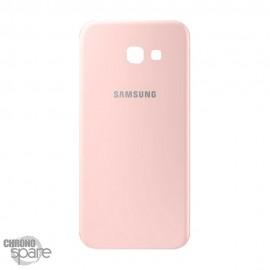 Vitre arrière rose Samsung A5 2017 A520F