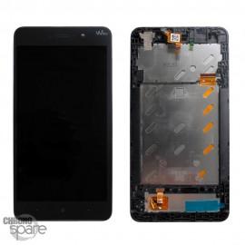 Ecran LCD et Vitre Tactile noire Wiko Lenny 4 Plus
