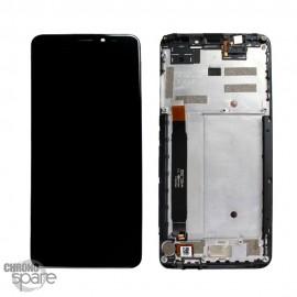 Ecran LCD et Vitre Tactile Noir Wiko View Prime