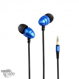 Ecouteurs Intra-auriculaires AWEI Q2 - Bleu