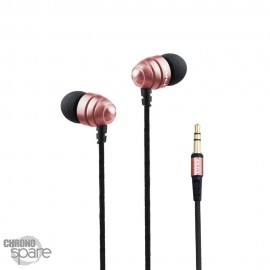 Ecouteurs Intra-auriculaires AWEI Q2 - Or Rose