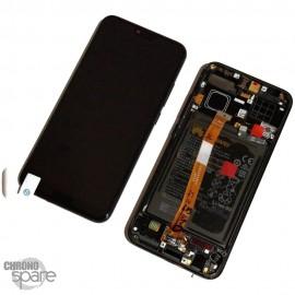 Ecran LCD + Vitre Tactile Noir Honor 10 COL-L29 (officiel)