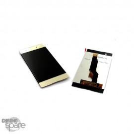 Ecran LCD & Vitre tactile Or Sony Xperia XA1