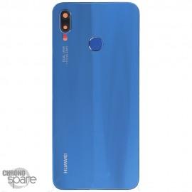 Vitre arrière Huawei P20 Lite Bleu (officiel)