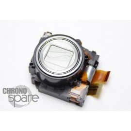 Bloc zoom argent Nikon Coolpix S9100 S9050 avec capteur photo