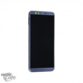 Ecran LCD + Vitre tactile Gris Honor 9 Lite (officiel)