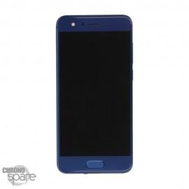 Ecran LCD + Vitre tactile bleu Honor 9 (officiel)