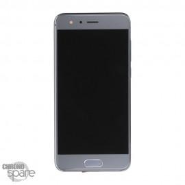 Ecran LCD + Vitre tactile gris Honor 9 (officiel)