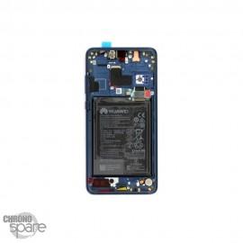 Ecran LCD + Vitre Tactile Huawei Ascend Mate 20 Bleu (officiel)