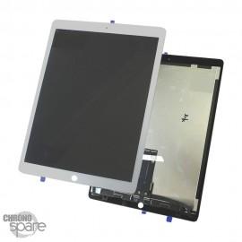 Ecran LCD + vitre tactile blanche iPad Pro 12.9 pouces A1670/A1671 avec nappe