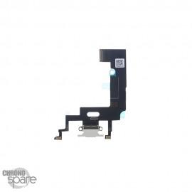 Nappe Connecteur de Charge Blanc iPhone XR