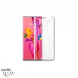 Vitre de protection incurvé 3D en verre trempé Huawei P30 Pro avec Boîte (PREMIUM)