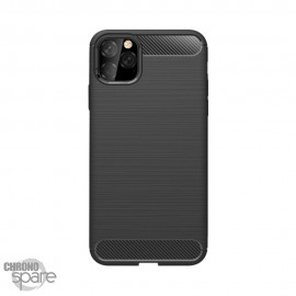 Coque souple carbone iphone XR - Noir
