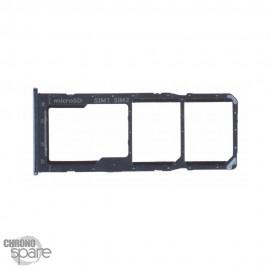 Tiroir SIM noir Samsung Galaxy A50 (A505F)