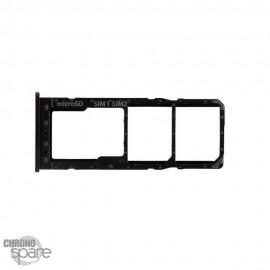 Tiroir SIM noir Samsung Galaxy A10 (105FN)