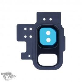 Lentille Caméra avec châssis bleu Samsung Galaxy S9 (G960F)