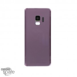 Vitre arrière + vitre caméra violet Samsung Galaxy S9 (G960F)