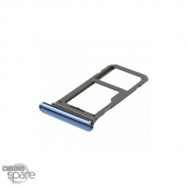 Tiroir SIM bleu Samsung Galaxy S8 / S8+