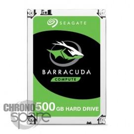 Disque dur SATA 3.5 pouces 500 Go 32 Mo 7200 tours Seagate Barracuda