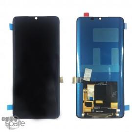 Ecran LCD + vitre tactile sans châssis noir Xiaomi Mi note 10