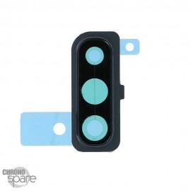 Lentille caméra avec châssis noir Samsung Galaxy A50