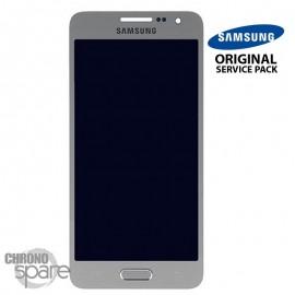 Vitre tactile + écran LCD Samsung Galaxy A300F (officiel) GH97-16747C Argent