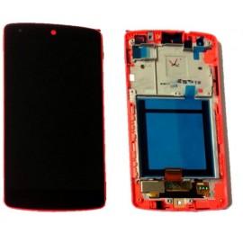 Ecran LCD + vitre tactile + châssis Nexus 5 d820 Noir