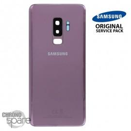 Vitre arrière+vitre caméra violet (officiel) Samsung Galaxy S9 PLUS G965F