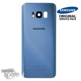 Vitre arrière+vitre caméra Orchidée (officiel) Samsung Galaxy S8 + G955F