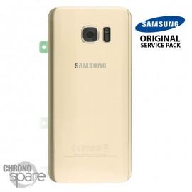 Vitre arrière + vitre caméra OR (officiel) Samsung Galaxy S7 Edge G935F
