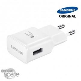 Chargeur secteur Samsung FAST CHARGE original usb 5V 2 A - Blanc