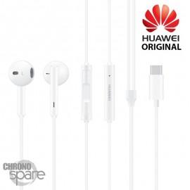 Écouteurs Huawei (originaux) - intra-auriculaire - Prise jack - version boîte