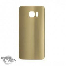 Vitre arrière Samsung S6 Edge Or