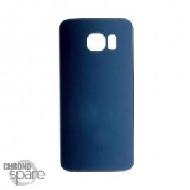 Vitre arrière Samsung S6 Edge Bleu Nuit