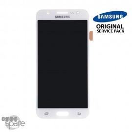 Ecran LCD + Vitre tactile Blanche Samsung J500F (officiel) GH97-17667A